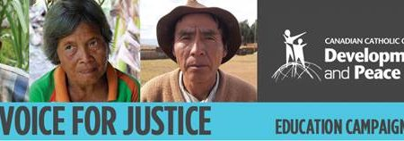 National launch of the fall education campaign  A Voice for Justice