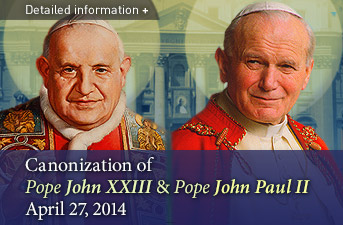 Statement from the Prime Minister on the Canonization of Blessed John XXIII and Blessed John Paul II