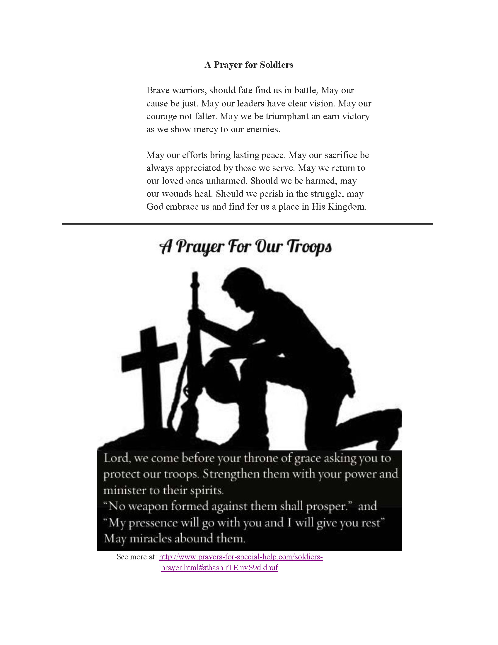 Catholic prayer for courage