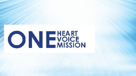 New theme: <i>One Heart, One Voice, One Mission</i>