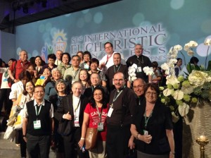 Some of the Canadians at IEC 2016 with one Cardinal and three Archbishops!