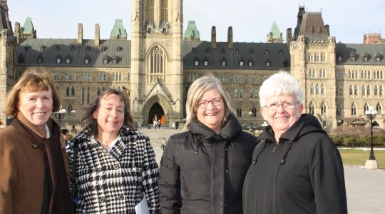 Catholic Women's League brings concerns to federal officials
