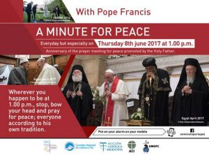 Minute for Peace with Pope Francis