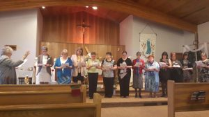 Saskatoon Diocesan Executive Installation