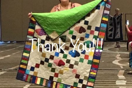 Thank You - 100th Anniversary Lap Quilt Challenge