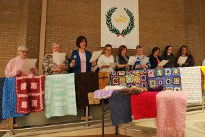 Our Lady of Hope Lap quilts