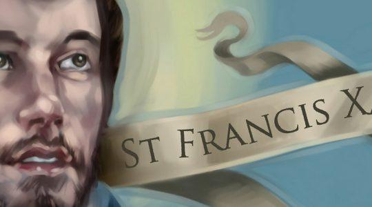 Saint Francis Xavier's relic in Canada