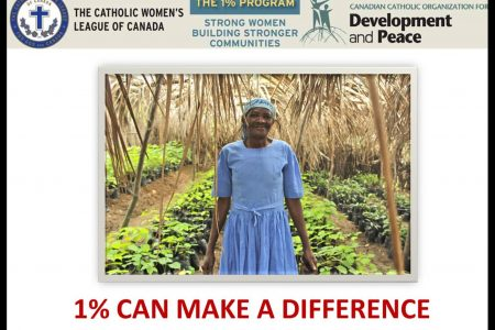 Canadian Catholic Organization for Development and Peace ShareLent Campaign